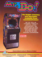 Mr. Do! — 1982 at Barcade® in Jersey City, NJ | arcade video game