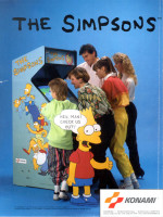 The Simpsons — 1991 at Barcade® in Jersey City, NJ
