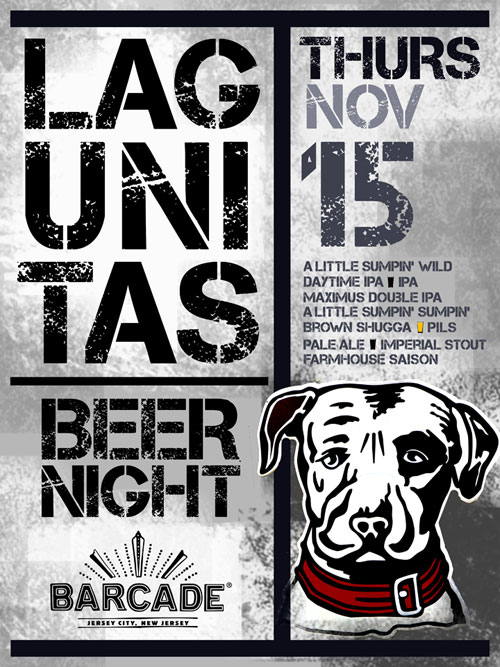 Lagunitas Brewing Night — November 15, 2012