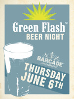 Green Flash Night — June 6, 2013 at Barcade® in Jersey City, NJ