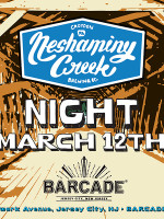 Neshaminy Creek Brewing Co. Night — March 12, 2015 at Barcade® in Jersey City, NJ