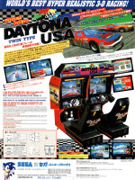 Daytona USA (Twin) — 1994 at Barcade® in Jersey City, NJ
