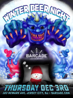 Winter Beer Night — December 3, 2015 at Barcade® in Jersey City, New Jersey
