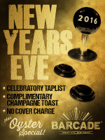 Barcade New Year's Eve Party — December 31, 2015 in Jersey City, NJ