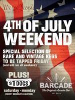 Barcade 4th of July Weekend Specials at Barcade® in Jersey City, NJ