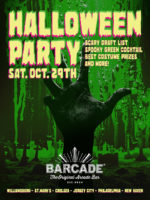 Barcade Halloween Party — October 29, 2016 at Barcade® in Jersey City, NJ