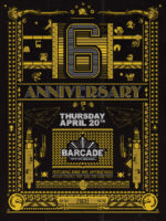6th Anniversary Party — April 20, 2017 at Barcade® in Jersey City, NJ
