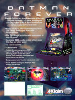 Batman Forever — 1996 at Barcade® in Jersey City, NJ | arcade video game