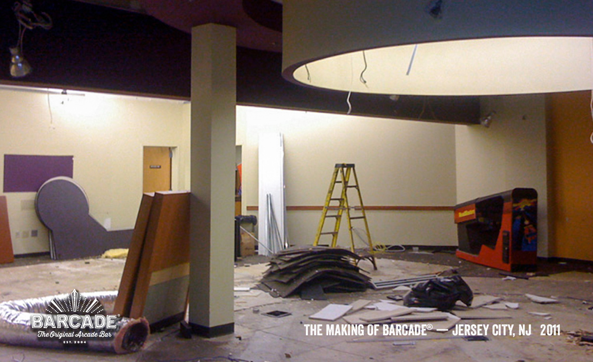 Making of Barcade® in JerseyCity photo link to Flickr gallery