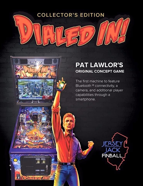 Dialed In (pinball) — 2017 at Barcade® in Jersey City, NJ