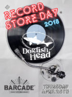 Dogfish Head Record Store Day — April 26, 2018 at Barcade® in Jersey City, NJ