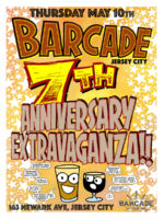 7th Anniversary Party — May 10, 2018 at Barcade® in Jersey City, NJ