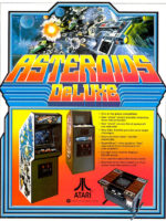 Asteroids Deluxe — 1981 at Barcade® in Jersey City, NJ | arcade video game