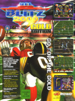 NFL Blitz 2000 - GoldEdition — 1999 at Barcade® in Jersey City, NJ | arcade video game