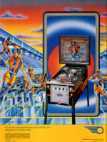 Vector (pinball) — 1982 at Barcade® in Jersey City, NJ