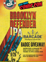 Brooklyn Defender Pint Night — September 26, 2018 at Barcade in Jersey City, NJ