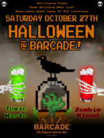 Barcade® Halloween — October 27, 2018 at Barcade in Jersey City, NJ