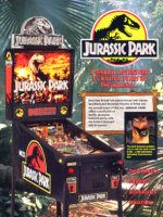 Jurassic Park (pinball) — 1993 at Barcade® in Jersey City, NJ