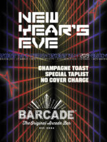 New Year's Eve Party — Monday, December 31st 2018 at Barcade® in Jersey City, New Jersey