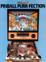 Bad Cats (pinball) — 1989 at Barcade® in Jersey City, NJ