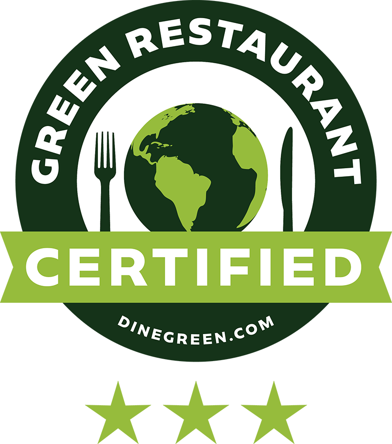 Green Restaurant Certified — Three Star | Dinegreen.com