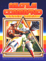 Missile Command — 1980 at Barcade® in Jersey City, NJ | arcade video game flyer graphic