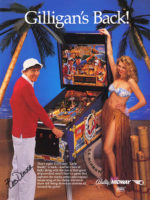Gilligan's Island (pinball) — 1991 at Barcade® in Jersey City, NJ | arcade video game flyer graphic