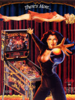 Theatre of Magic (pinball) — 1995 at Barcade® in Jersey City, NJ | arcade video game flyer graphic