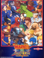 Marvel Vs. Capcom: Clash of Super Heroes — 1998 at Barcade® in Jersey City, NJ | arcade video game flyer graphic