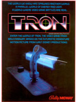 Tron — 1982 at Barcade® in Jersey City, NJ | arcade video game flyer graphic