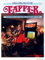 Tapper — 1984 at Barcade® in Jersey City, NJ | arcade video game flyer graphic