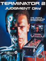 Terminator 2 (pinball) — 1991 at Barcade® in Jersey City, NJ | arcade video game flyer graphic