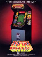 Ikari Warriors — 1986 at Barcade® in Jersey City, NJ | arcade video game flyer graphic