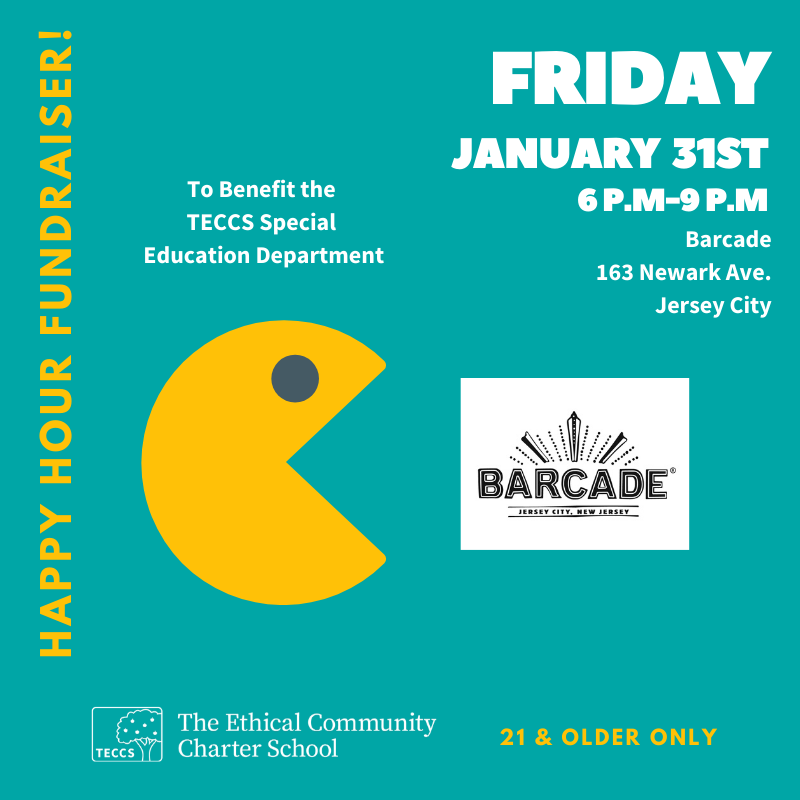 TECCS Fundraiser at Barcade on Friday, January 31st, 2020 in Jersey City, NJ