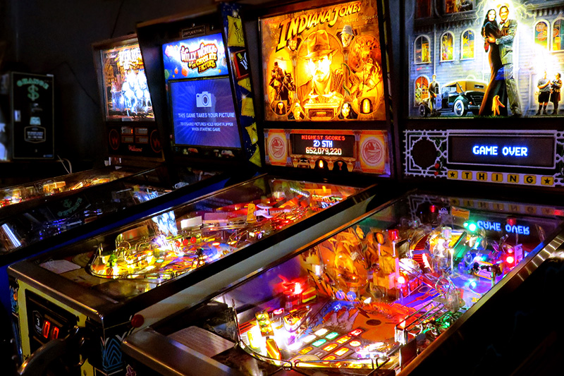 Barcade Jersey City Pinball games photo