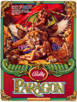 Paragon (Pinball) — 1979 at Barcade® in Jersey City, NJ | arcade video game flyer graphic