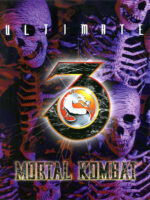 Ultimate Mortal Kombat 3 — 1995 at Barcade® in Jersey City, NJ | arcade video game flyer graphic