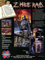 Zombie Raid — 1995 at Barcade® in Jersey City, NJ | arcade video game flyer graphic