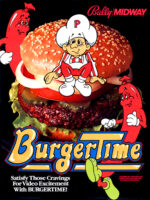 BurgerTime — 1982 at Barcade® in Jersey City, NJ | arcade video game flyer graphic