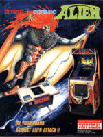 Cosmic Alien — 1980 at Barcade® in Jersey City, NJ | arcade video game flyer graphic