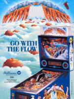 White Water (Pinball) — 1993 at Barcade® in Jersey City, NJ | arcade video game flyer graphic