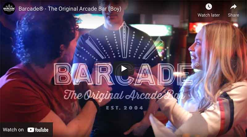 Barcade® YouTube Commercial Link